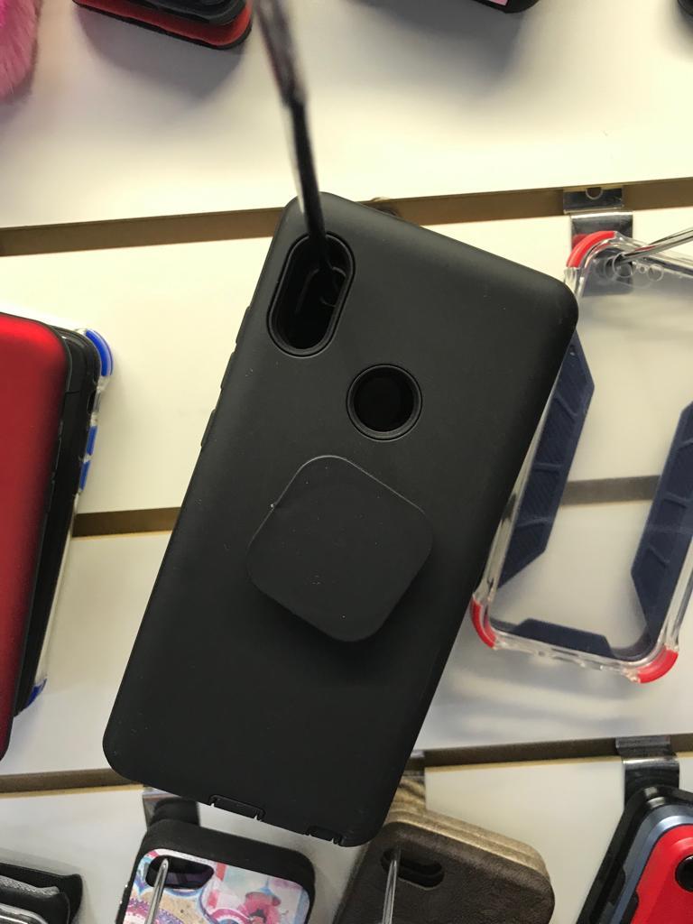 035e98de569 Funda Xiaomi Note 5 Pro Rigida Con Soporte y Pop Socket