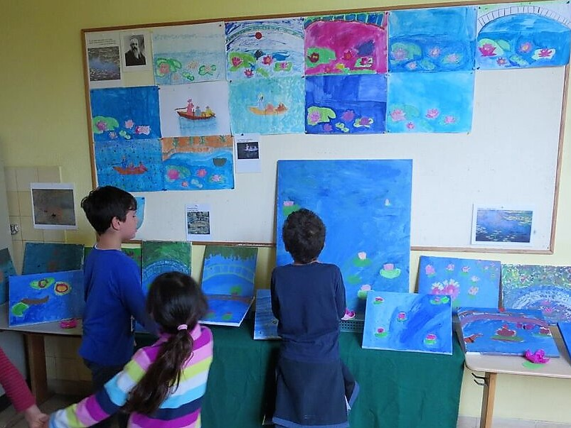 Malen wie Claude Monet