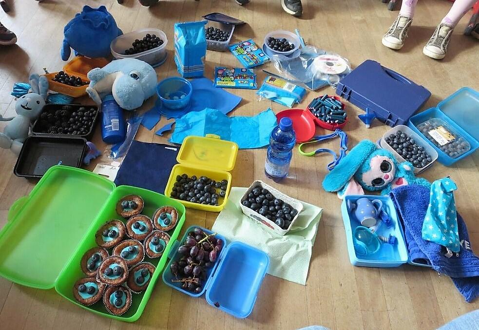 Eine Reise in die Farbenländer: blau