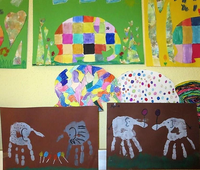 Der Elefant Elmar