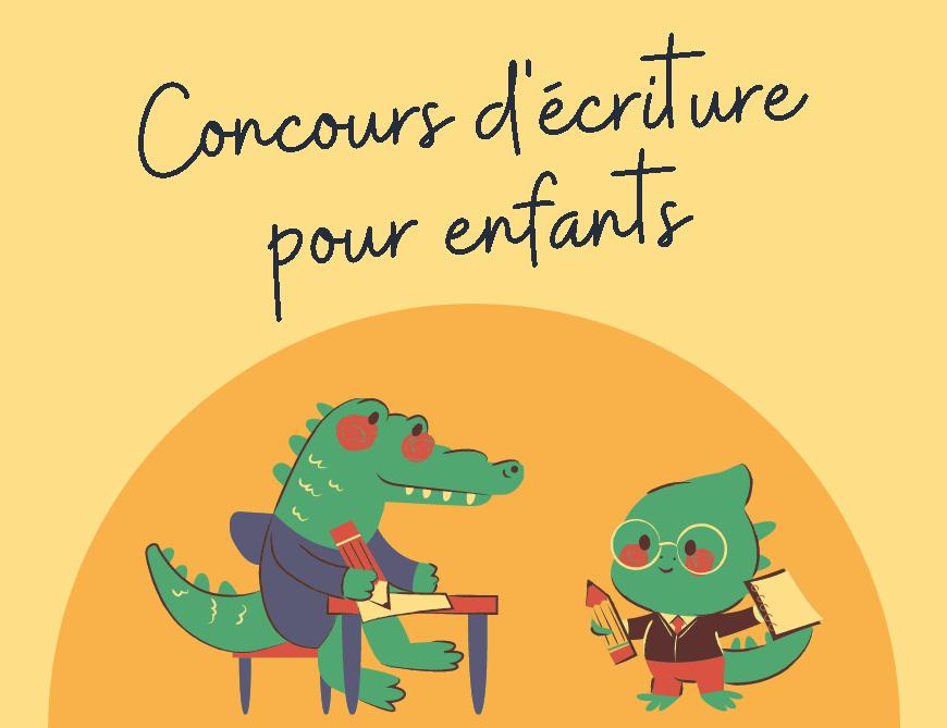 Concours d'écriture pour enfants