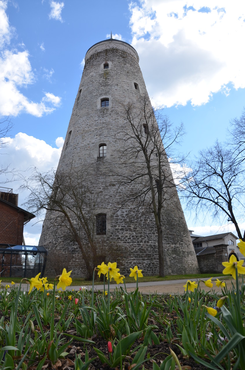 Soleturm im Kurpark von Bad Salzelmen