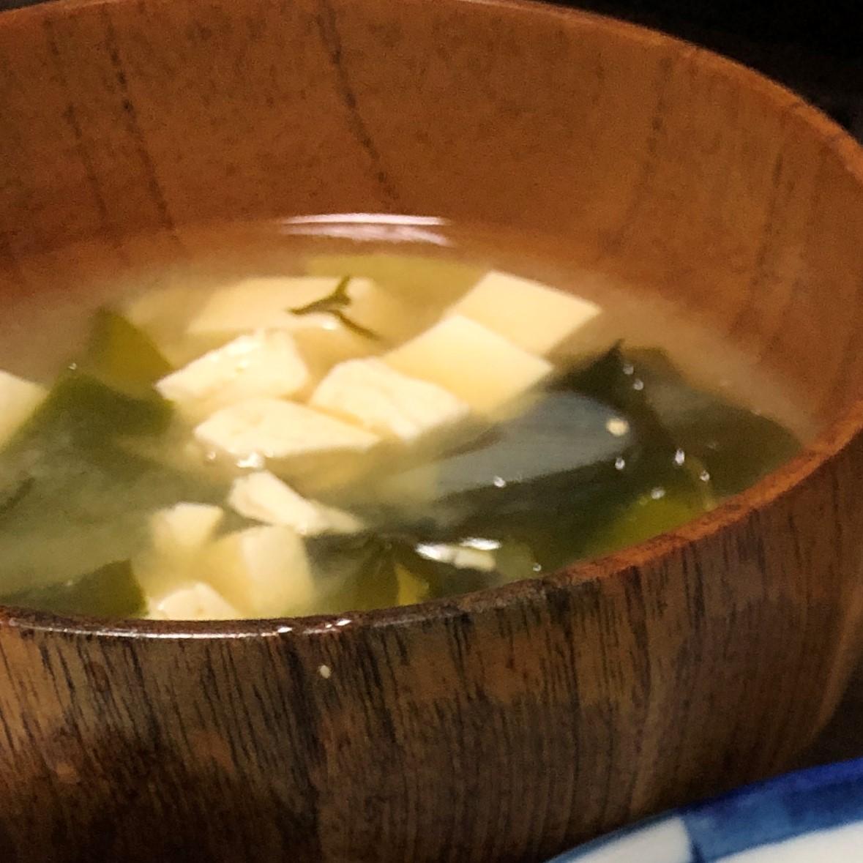 伊藤家のお味噌汁