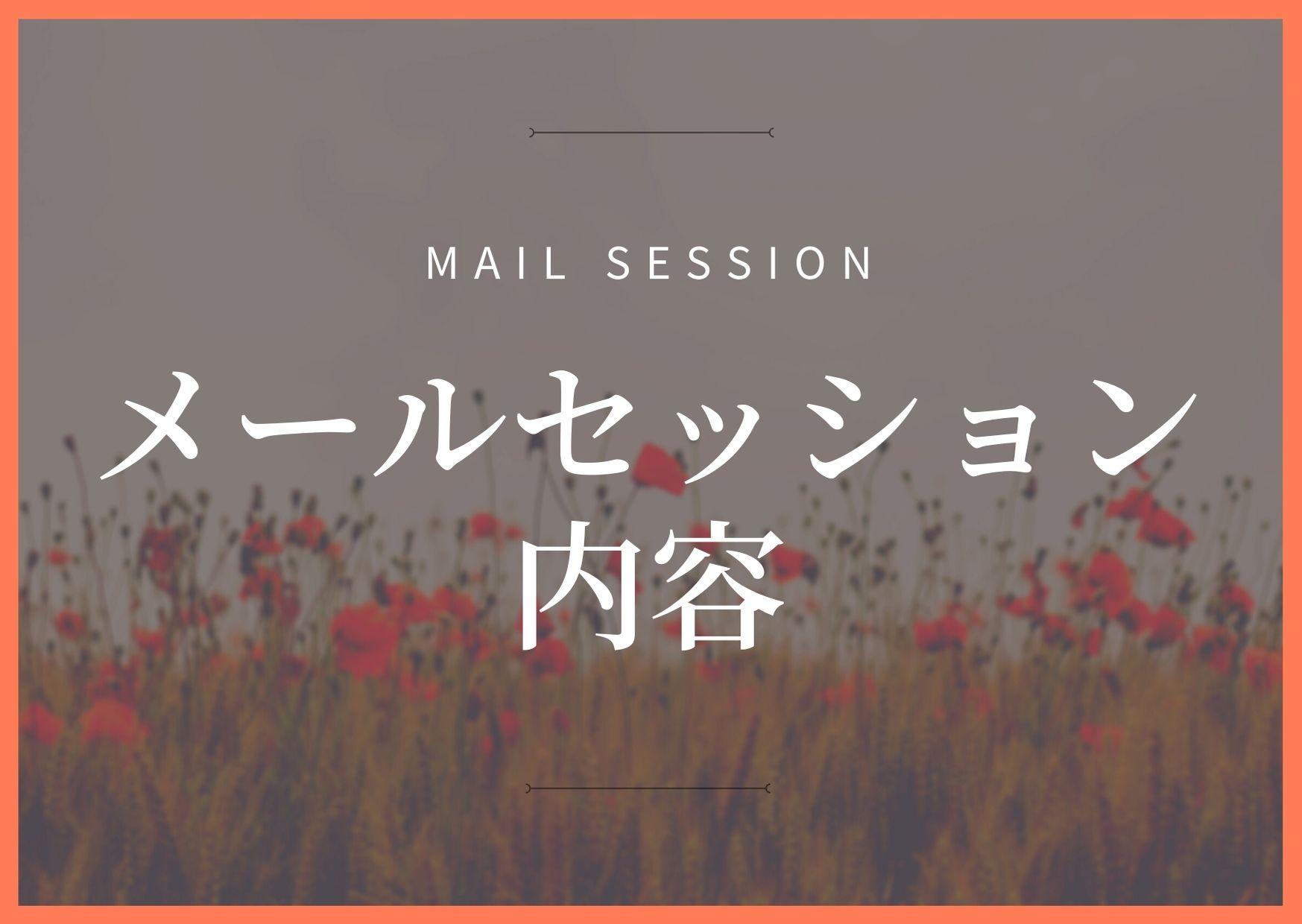 メールセッション内容