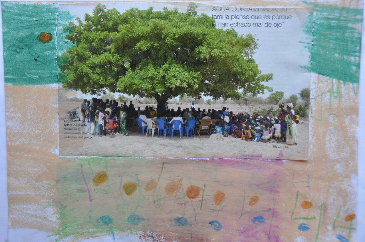Había una vez unos niños que se iban de picnic  y se iban a escuchar a su profesor y un niño.