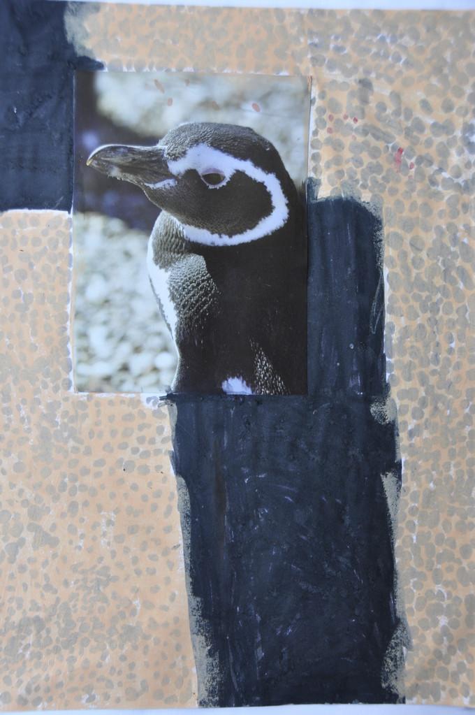 El pingüino pio-pio.