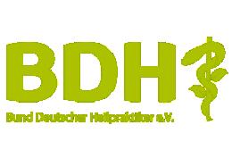 Mitglied im Bund Deutscher Heilpraktiker (BDH)