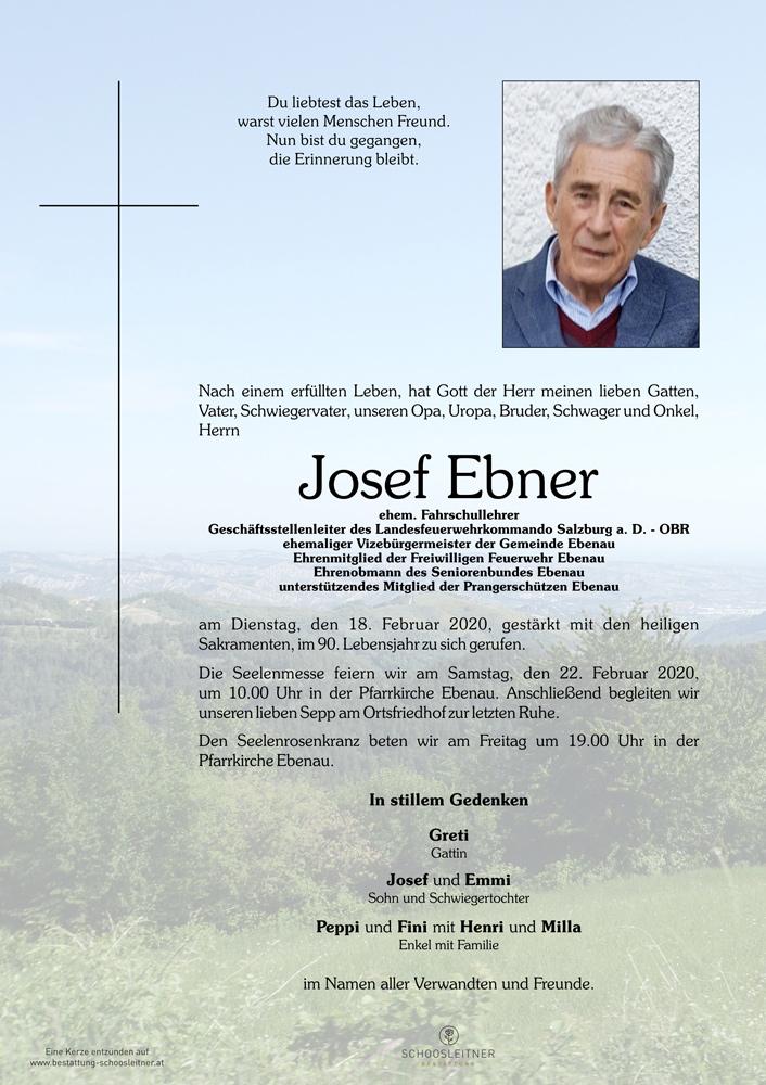 Josef EBNER