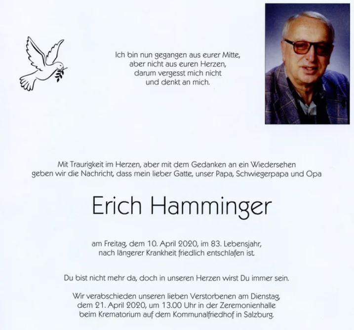 Erich HAMMINGER