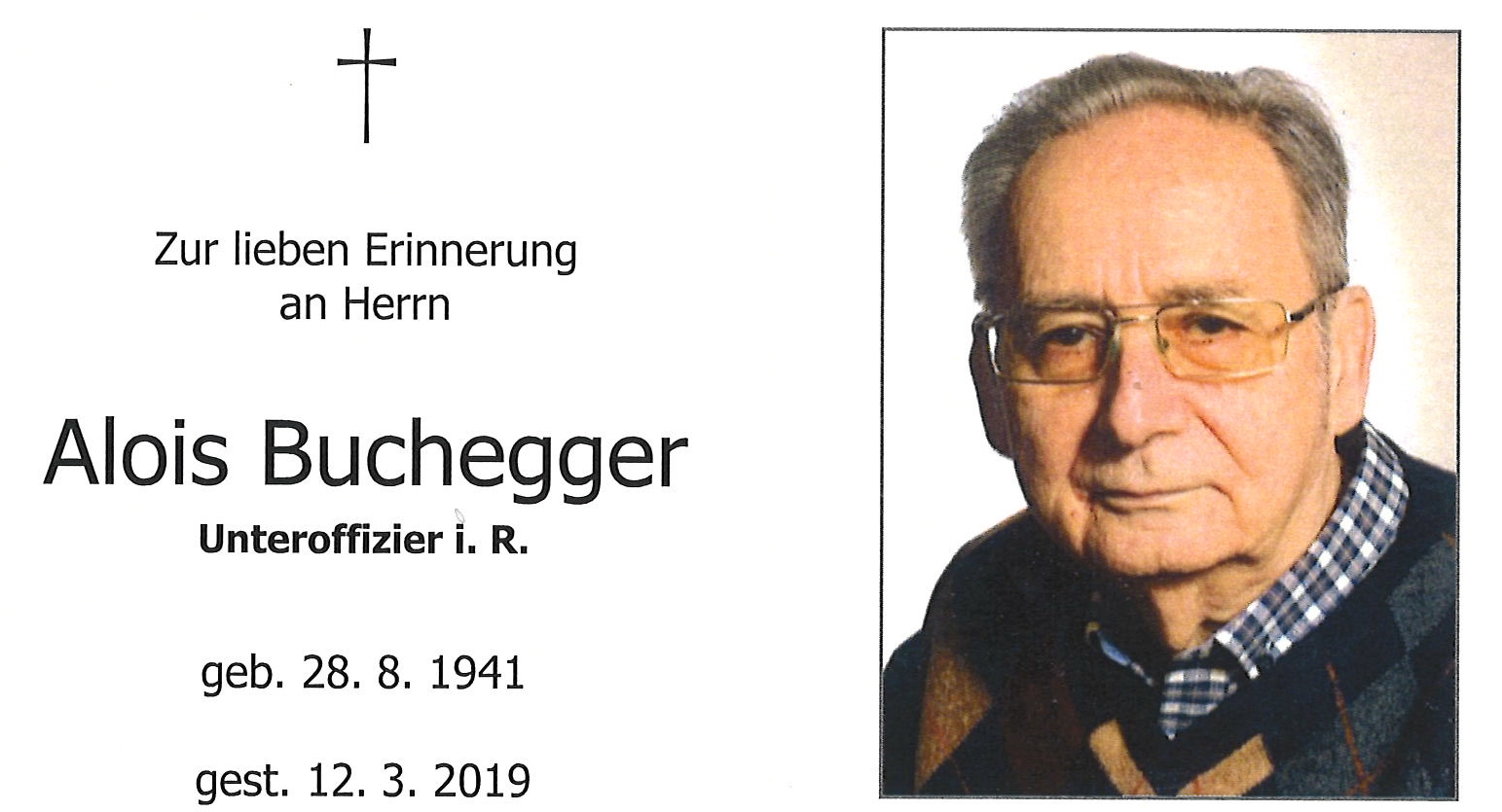 Alois Buchegger