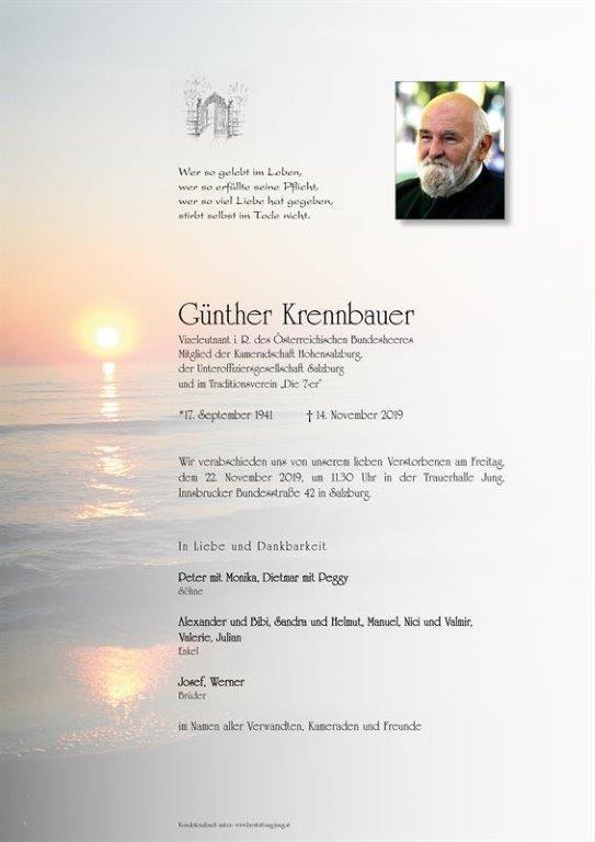 Günther Krennbauer