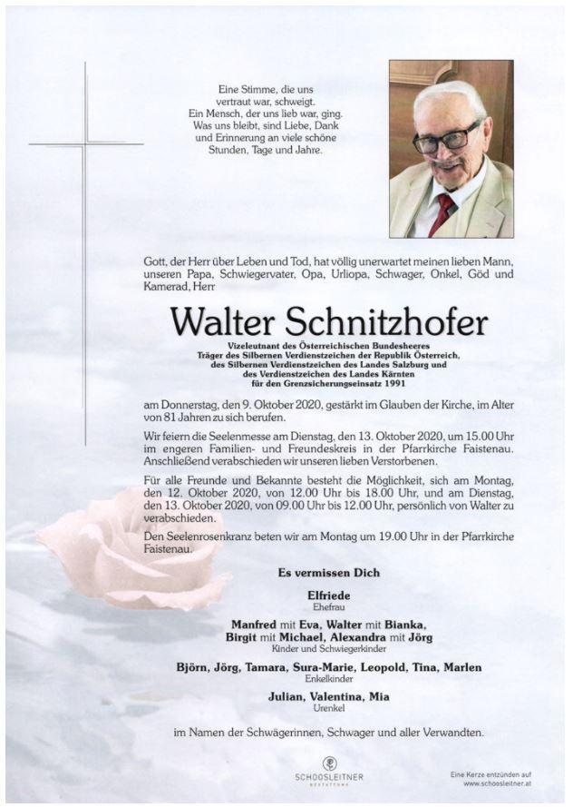Walter SCHNITZHOFER