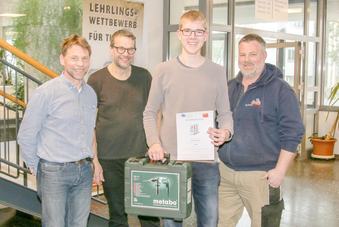 Sebastian Albers -  Sieger 1 Jahr.
