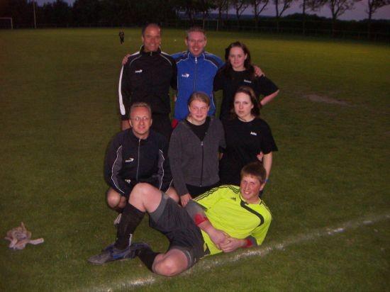 Siegerehrung, Minispielfeld-Turnier & Flutlicht-Elfmeterschießen, 2009