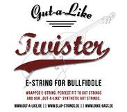 """Gut-a-Like """"Twister"""" E-Saite"""