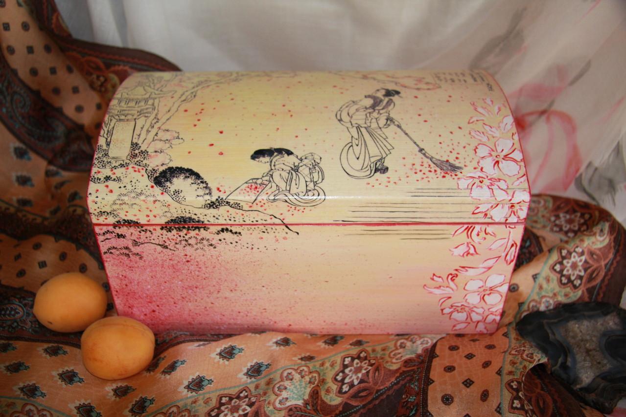 японский стиль в шкатулках