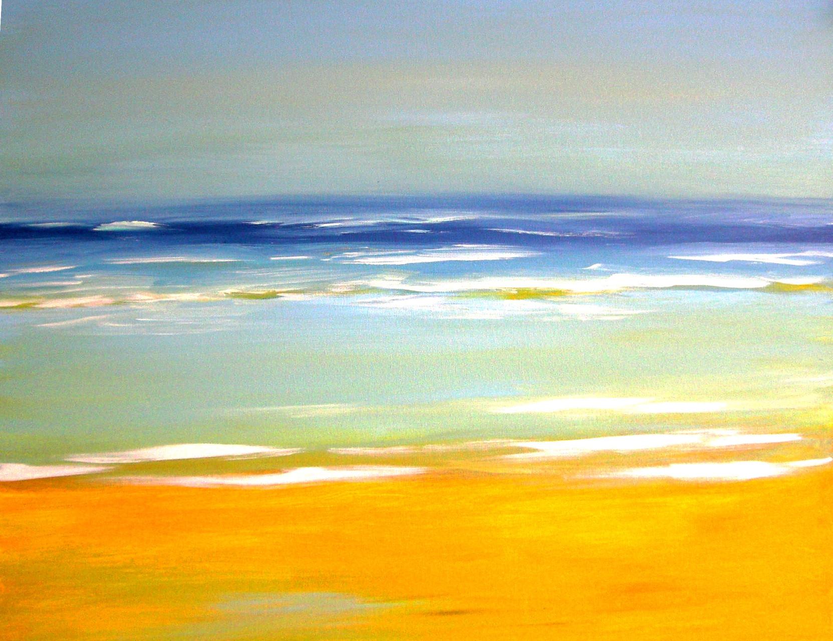 African Blue    80 x 100 cm  Im Besitz von  Irene Hulst (NL)