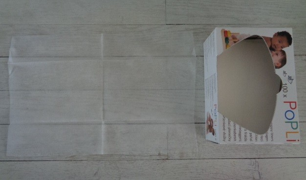 voile de protection couche lavable, voile popolini, voile popli