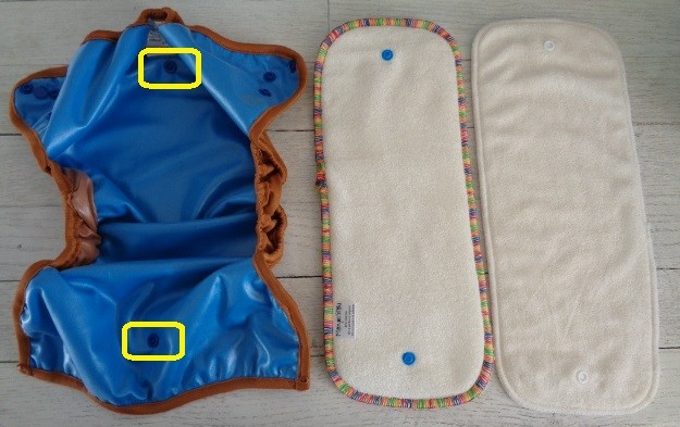 couche lavable bi best mopetitou te2 ecomome : insert hybrid best 5 épaisseurs, doublure 100% bambou 4 épaisseurs