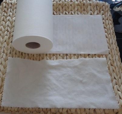 rouleau de voiles jetables et voile lavable en micropolaire pour couches lavables