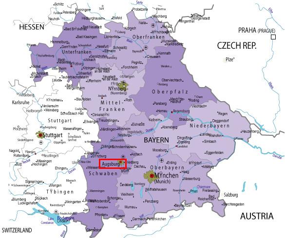 Región de Baviera (Bayern)
