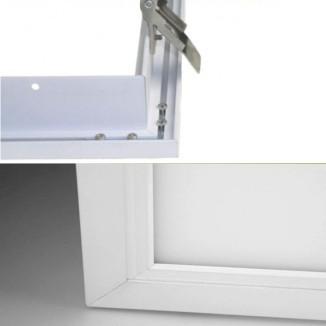 einbaurahmen led panel f r gipskarton deckenausschnitte 30x30 60x60 30x120 60x120cm led. Black Bedroom Furniture Sets. Home Design Ideas
