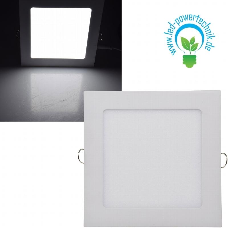 Led Licht Panel 11 Watt 184x184mm Ip44 Auch Für