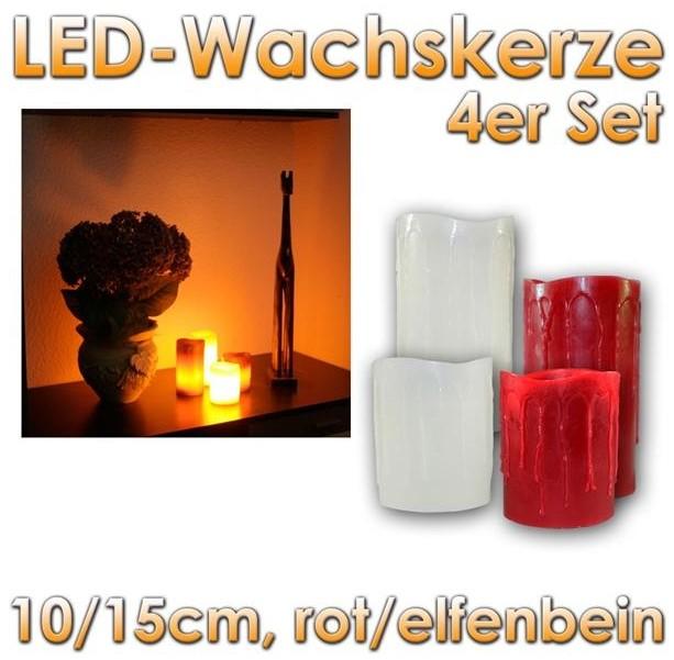 led kerzen 6 led lichtsysteme gro handel gewerbebeleuchtung. Black Bedroom Furniture Sets. Home Design Ideas