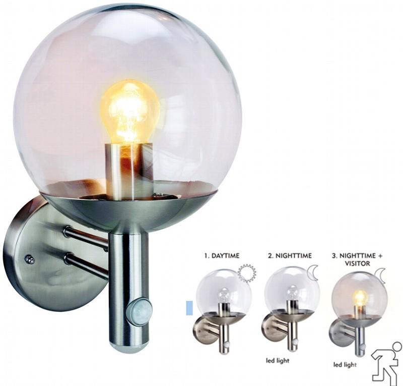 bewegungssensoren leuchten led lichtsysteme gro handel. Black Bedroom Furniture Sets. Home Design Ideas