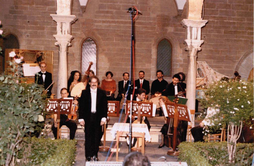 Orizzonti Barocchi, Teatro Massimo 1992 (dir. G. Garrido- solisti: Kiehr, Miatello, Ansermet, Cavina, Cecchetti, Carnovich)