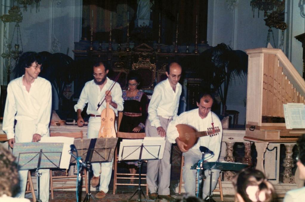 Festival di Musica antica di Erice, 1987