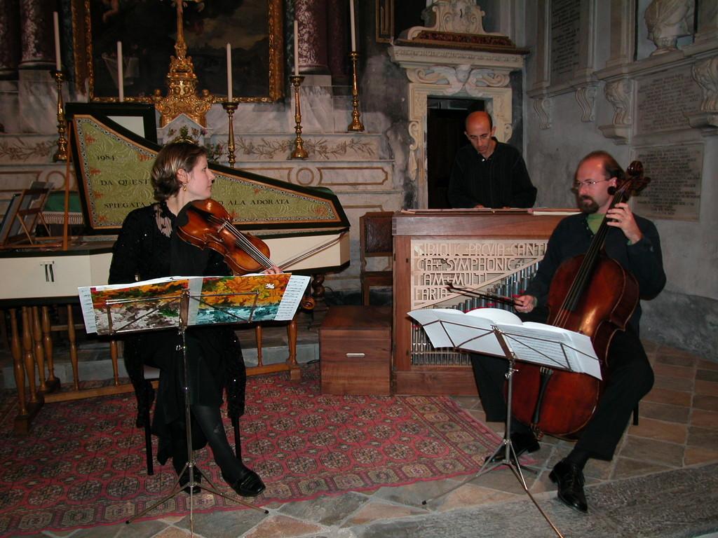 Musica antica al Colletto 2003 con Svetlana Fomina e Alessandro Palmeri