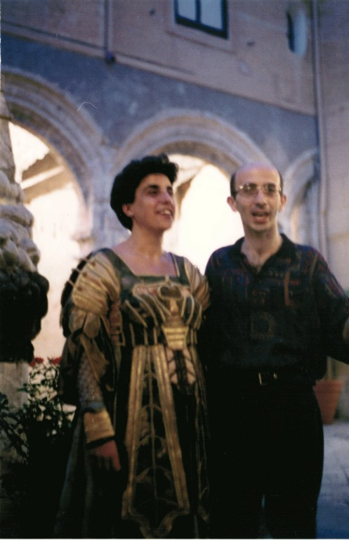 con Gloria Banditelli (Incoronazione di Poppea, 2000)