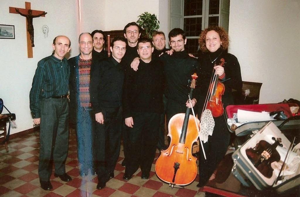 "In duo con A. Staier: J.S. Bach, Concerto a due cembali BWV 1061                                                                (Concerto stagione Palermo Musica Antica 22/12/""03)"