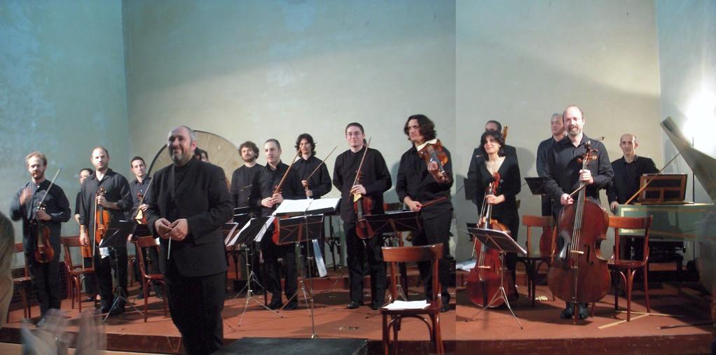 Ensemble di strumenti antichi del Consercatorio - dir. E. Onofri