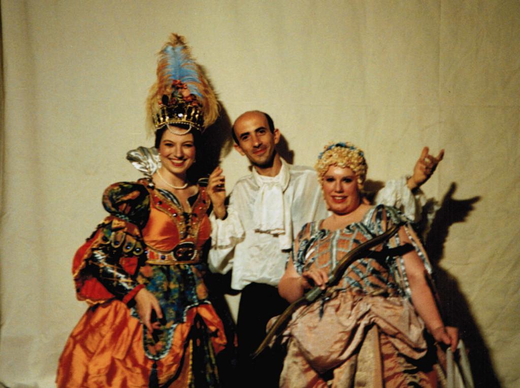 con M. C. Kiehr e A. Fernandez (La Dafne, 1995)