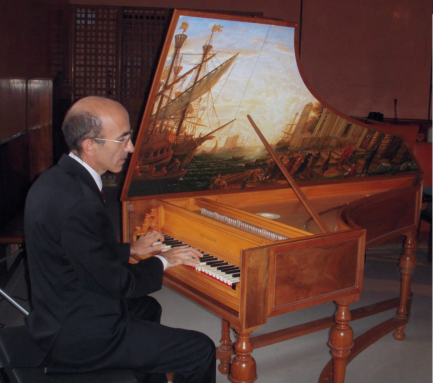 Concerto 20/10/2008 Musiche di W. Byrd (cembalo copia da Guarracino, Napoli 1652 - costr. U. Casiglia)