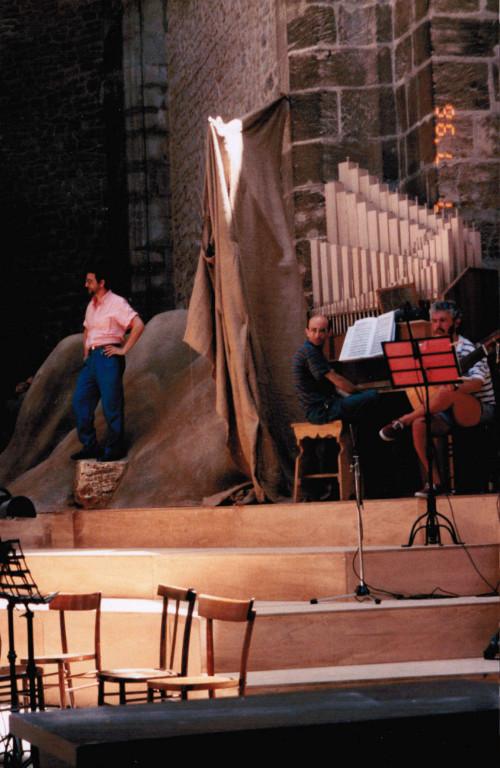 """Prove """"Orfeo"""" di Monteverdi, (1996)"""