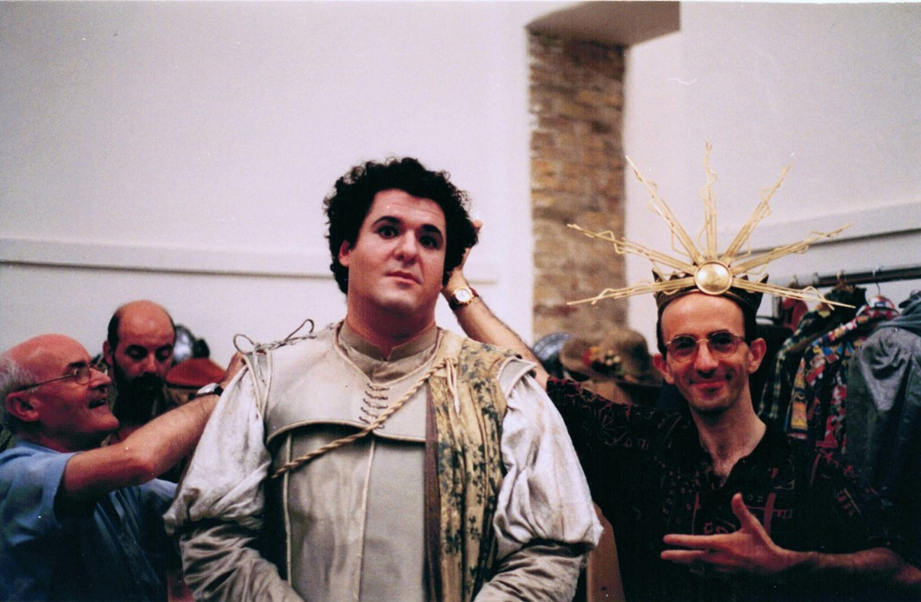 "con Victor Torres ""Orfeo"" (1996)"