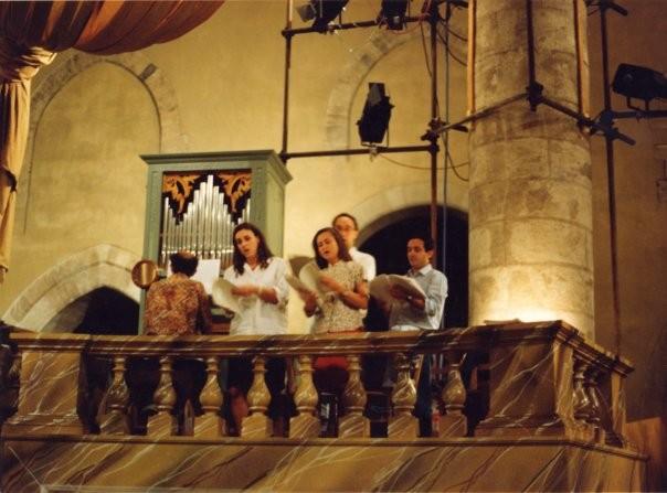 Vespro per lo Stellario della Beata Vergine di B. Rubino (prova), 1994