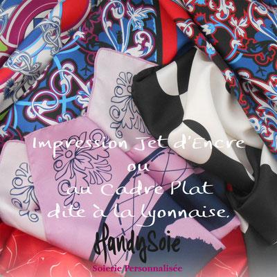 foulard soie  Lyon