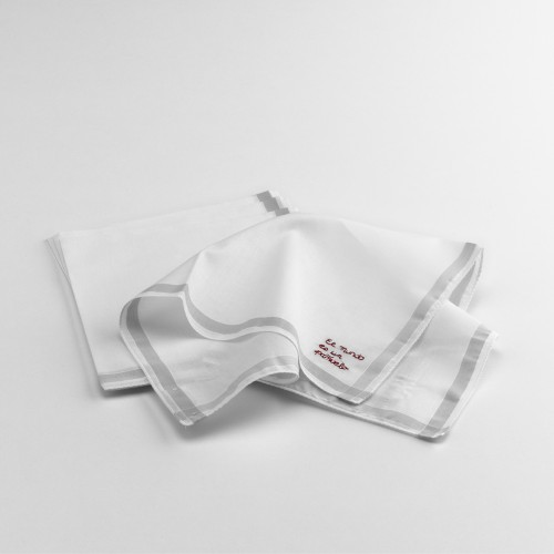 """Mundo"" handkerchief (25,- EUR)"