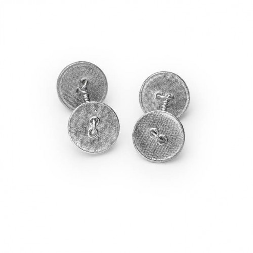 "Manschettenknöpfe ""Gemelli Lieselotte"" Silber (280,- EUR)"