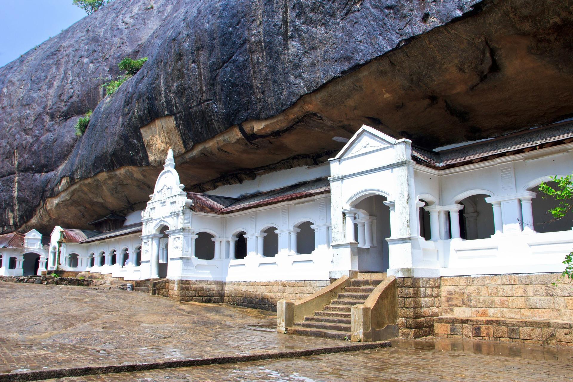 Dambulla - Höhlentempel