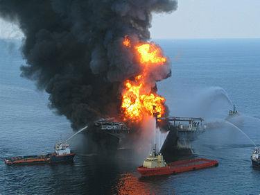 Explosion auf der Deepwater Horizon 2010