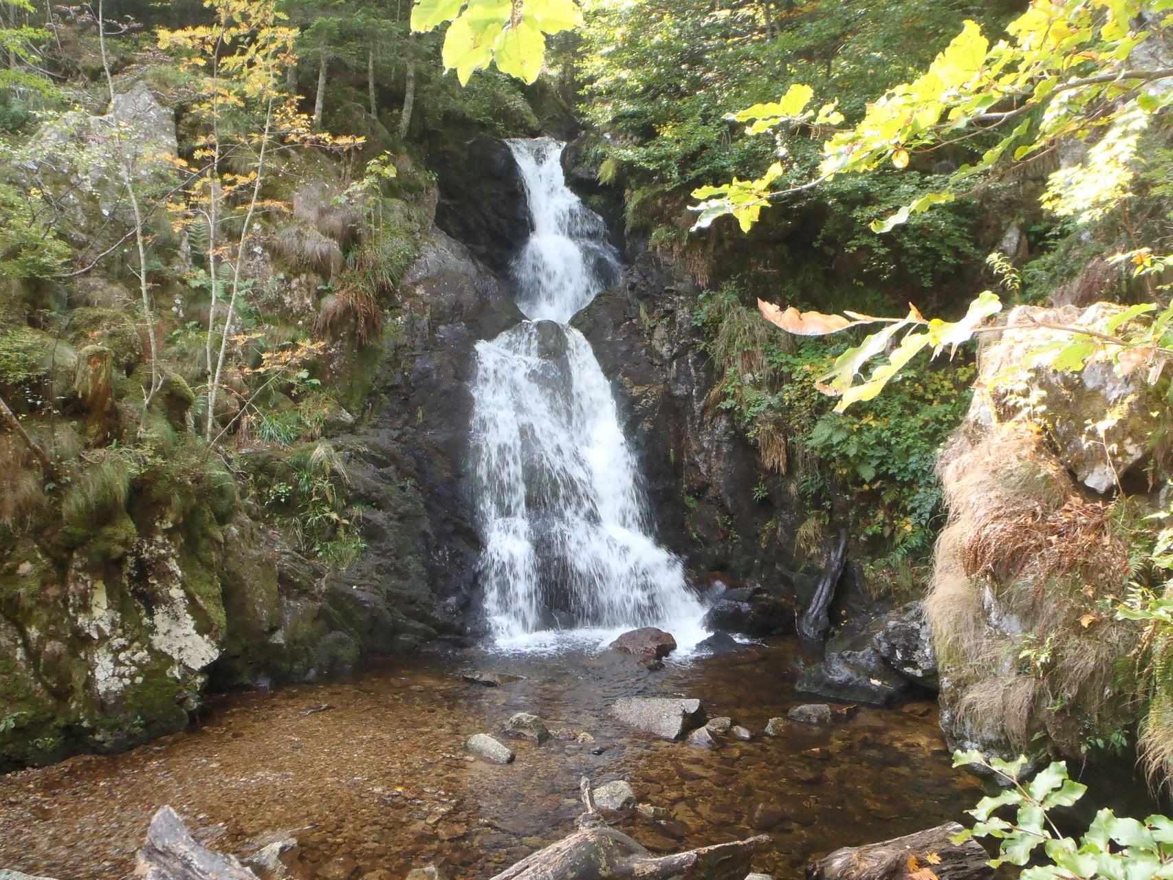 La cascade de Chorsin