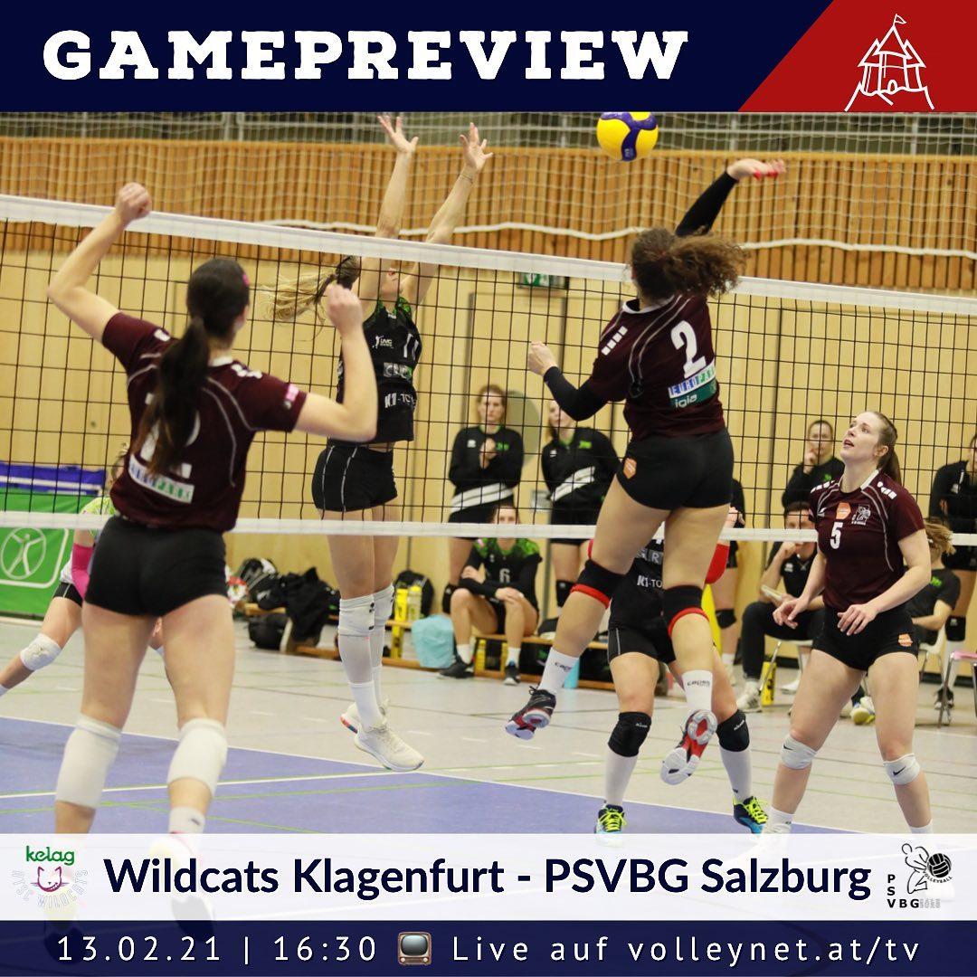 Game Preview 1. Bundesliga Damen: Wildcats Klagenfurt - PSV Salzburg