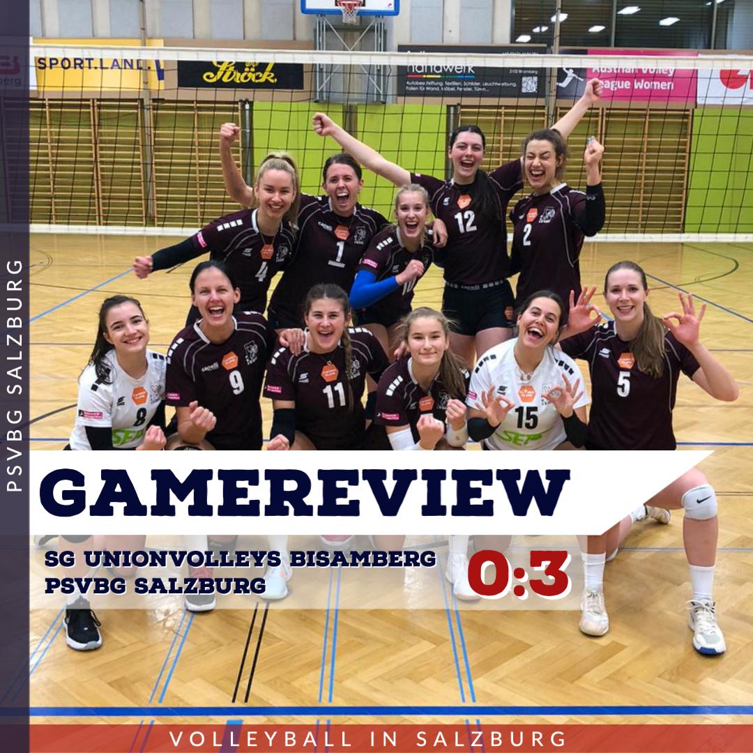 Gamereview 1. Bundesliga Damen: SG Bisamberg - PSVBG Salzburg