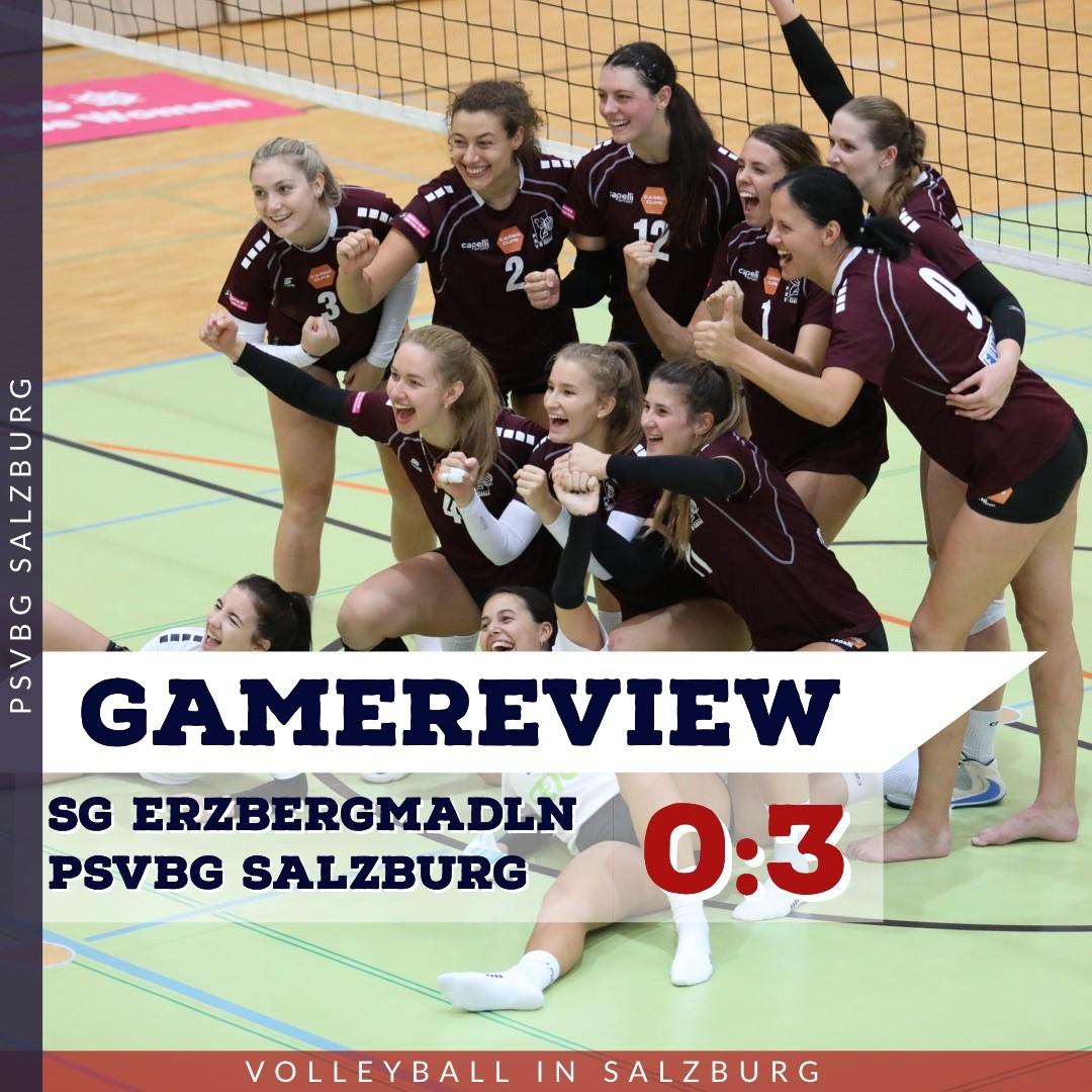 Gamereview 1. Bundesliga Damen: SG Eisenerz/Trofaiach - PSVBG Salzburg