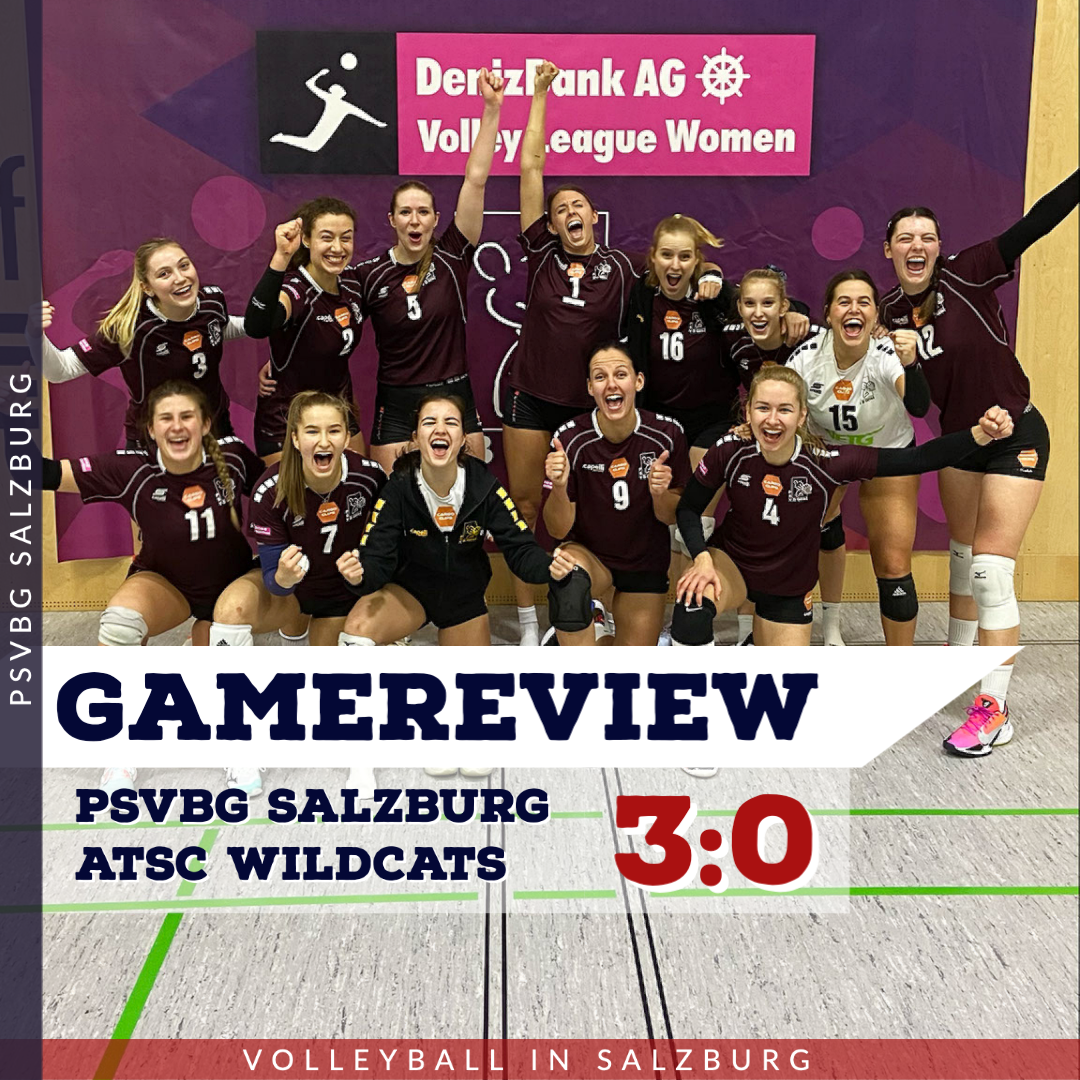 Gamereview 1. Bundesliga Damen: PSVBG Salzburg - ATSC Wildcats